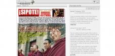 Semanario revista de humor Sipote - Cabra