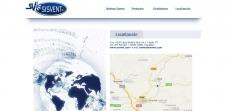 """Sección """"Localización""""- Sitio web Sisvent"""
