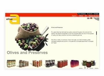 Alisa GmbH  Sitio Web captura