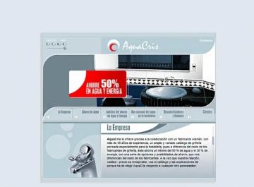 AquaCris Sitio web