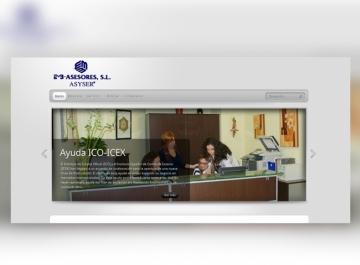 Asyser - Sitio web
