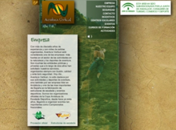 Sitio Web - Aventura Vertical