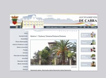 Ayuntamiento de Cabra Web