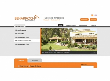 Benarroch Real Estate - Sitio web