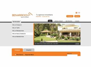 Benarroch Real Estate - Sitio web