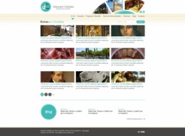 Web rutas turísticas Descubrir Córdoba