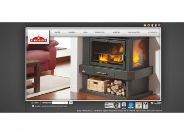 Bronpi Calefacción Sitio web