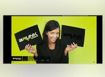 Brunk Sitio web