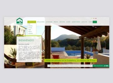 Captura Web Casa Olea