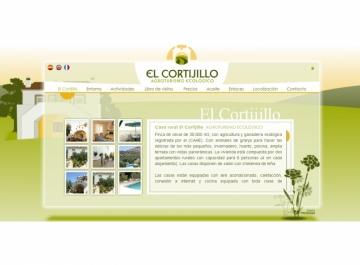 Casa El Cortijillo Sitio web
