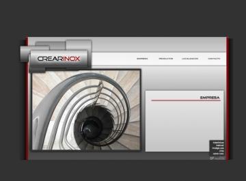 Crearinox - Sitio Web