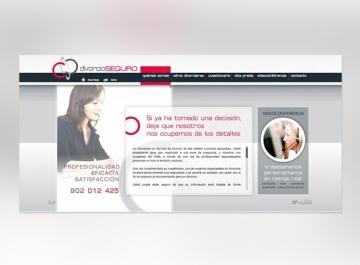 Divorcio Seguro - Sitio web