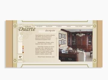 Casa Duarte Sitio web