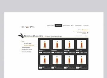 Hecoliva diseño web