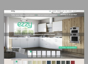 Ezzy diseño e-commerce