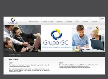 Grupo GC Sitio web