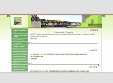 GDR Guadiato Sitio web