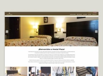 Hostal Plaza - Diseño Web