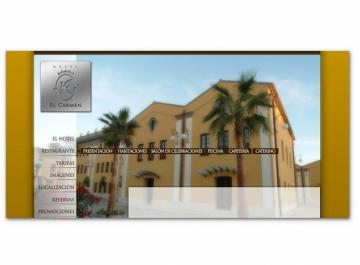Hotel El Carmen - Sitio Web