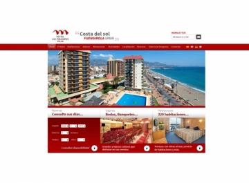 Hotel Las Pirámides captura web