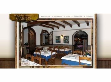 Hotel Restaurante Caicos Sitio Web
