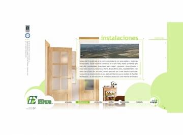 Industrias Espejo Sitio web