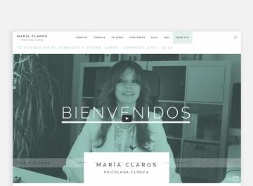 María Claros  sitio Web