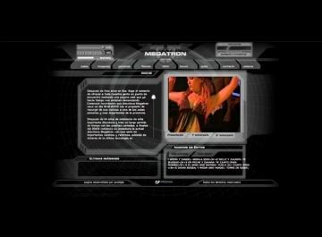 Disco Megatron Sitio web