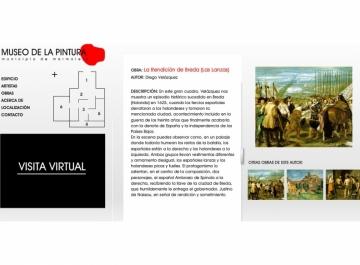 Museo de Pintura de Marmolejo Web captura