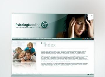 Psicología Online 24h Sitio web