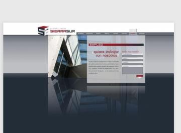 Prefabricados Sierra Sur Sitio Web captura
