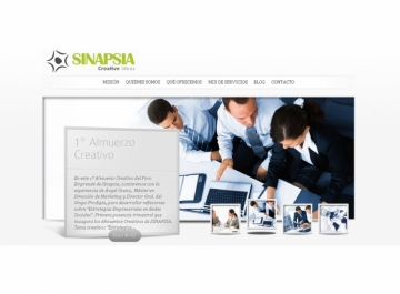 Sinapsia Capital Sitio web