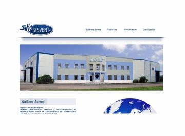 Sisvent Sitio web