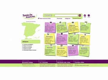 Tablón de Anuncios - Diseño web