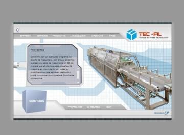 Tecfil Sitio Web