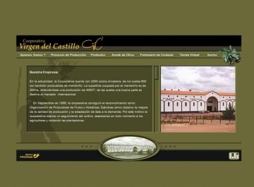 Cooperativa Virgen del Castillo web