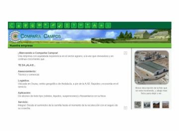 Compañía Campos Diseño Web