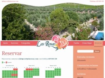 Captura Cortijo Las Rosas Web