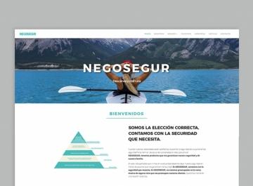 Negosegur Diseño web